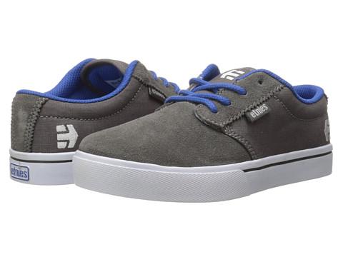 etnies Kids - Jameson 2 Eco (Toddler/Little Kid/Big Kid) (Grey/White) Boys Shoes