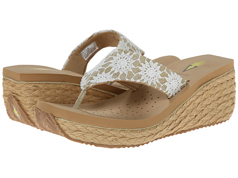 VOLATILE - Somerset (Natural) Women's Wedge Shoes