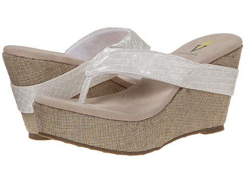 VOLATILE - Fun (White) Women's Wedge Shoes