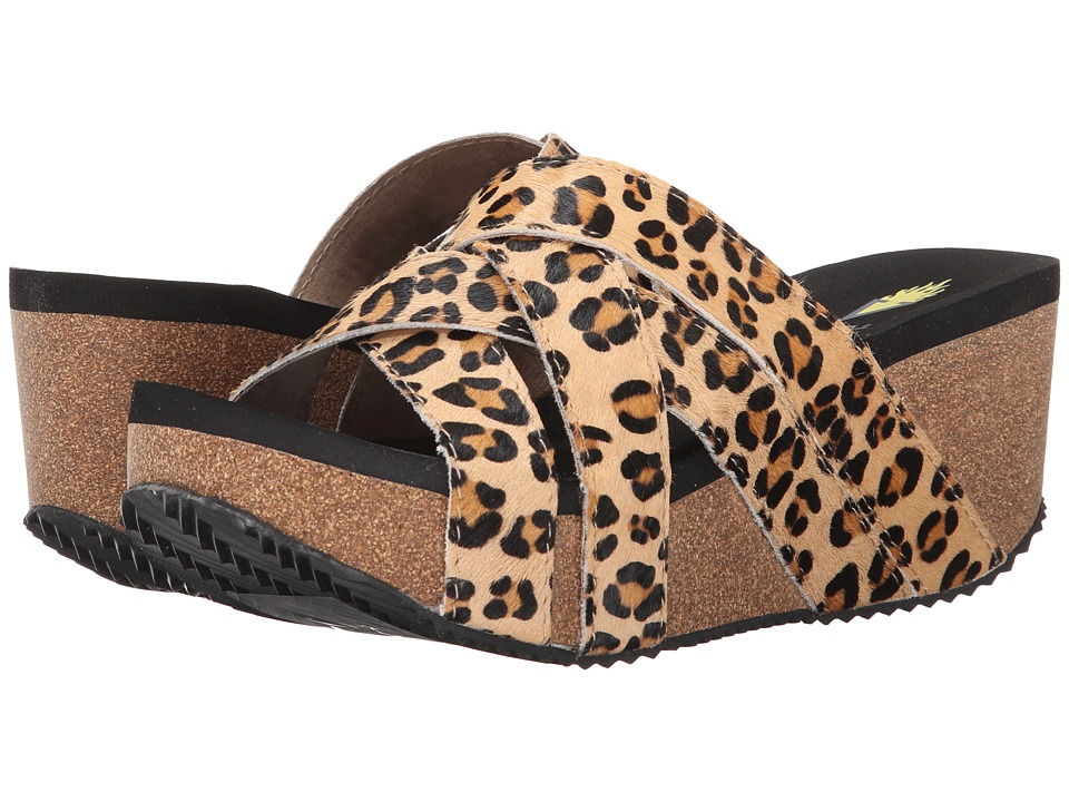 VOLATILE - Tabor (Tan/Leopard) Women's Wedge Shoes