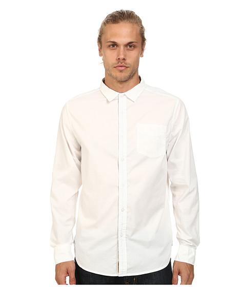 J.A.C.H.S. - Garment Dye Poplin Shirt (Optic White) Men
