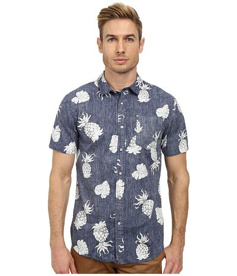 J.A.C.H.S. - Tropical Shirt (Blue) Men's Clothing