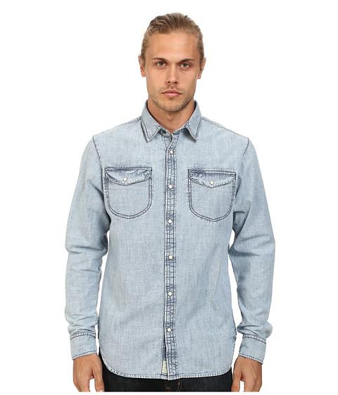 J.A.C.H.S. - Two-Pocket Shirt (Indigo) Men's Clothing