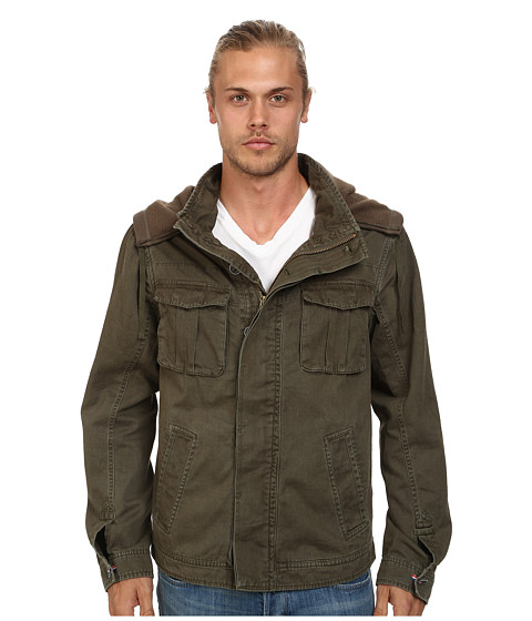 J.A.C.H.S. - Hooded Field Jacket (Dark Olive) Men