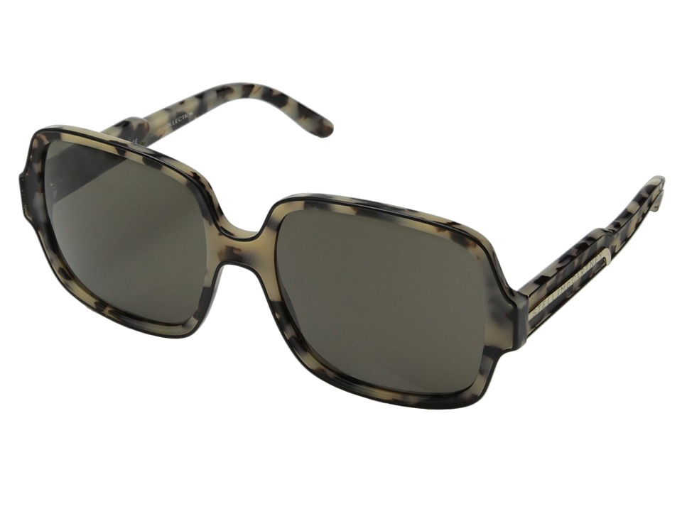 Stella McCartney - SM4055 (Black/Grey Spotty Tortoise/Brown) Fashion Sunglasses