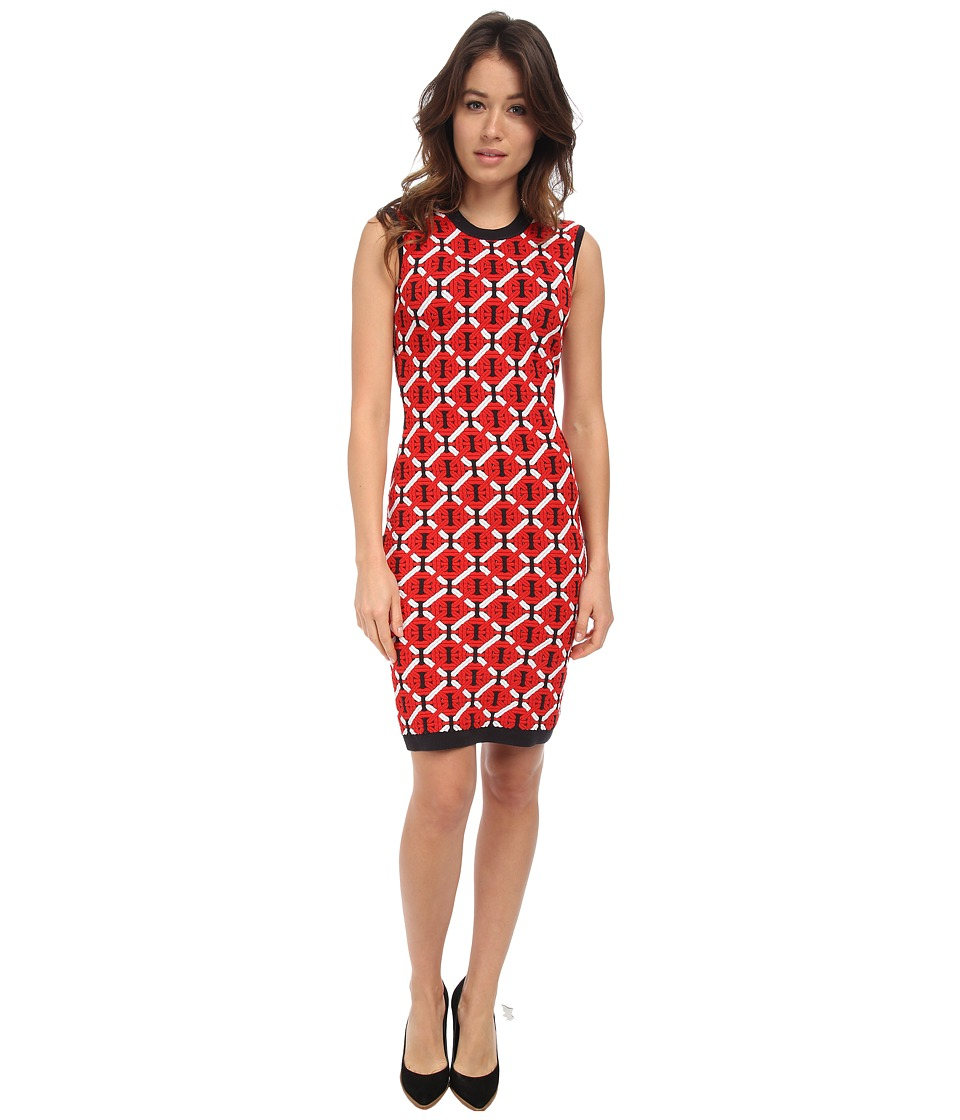 DSQUARED2 - S72CU0096 (Red/Blue/White) Women's Dress