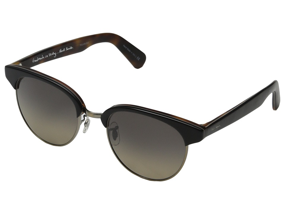 Paul Smith - Redbury (Semi-Matte Onyx/Mahogany/Antique Gold/Lover Soul Gradient) Fashion Sunglasses