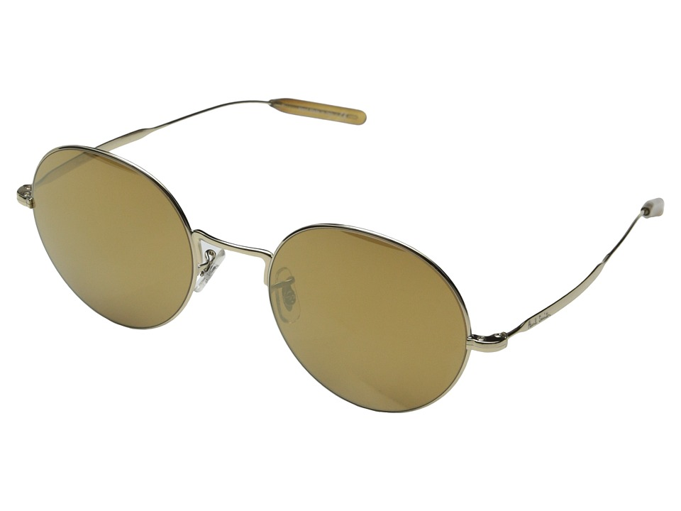 Paul Smith - Clarefield (Gold/Gold Mirror) Fashion Sunglasses