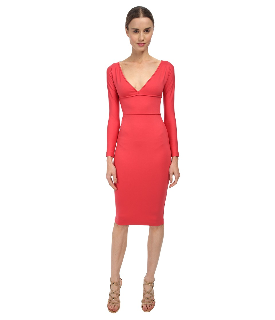 DSQUARED2 - Viscose Compact Jersey (Coral) Women's Dress