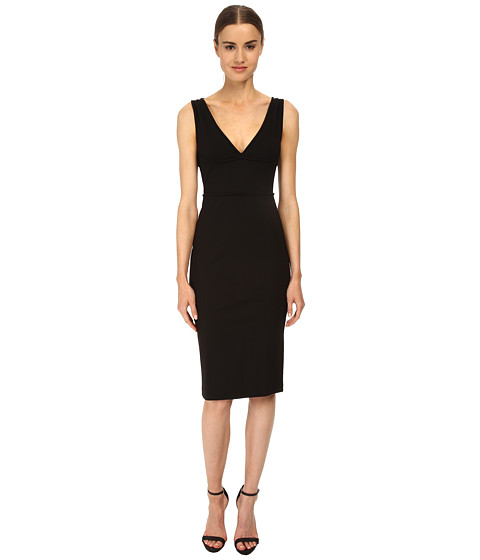 DSQUARED2 - Viscose Compact Jersey (Black) Women's Dress
