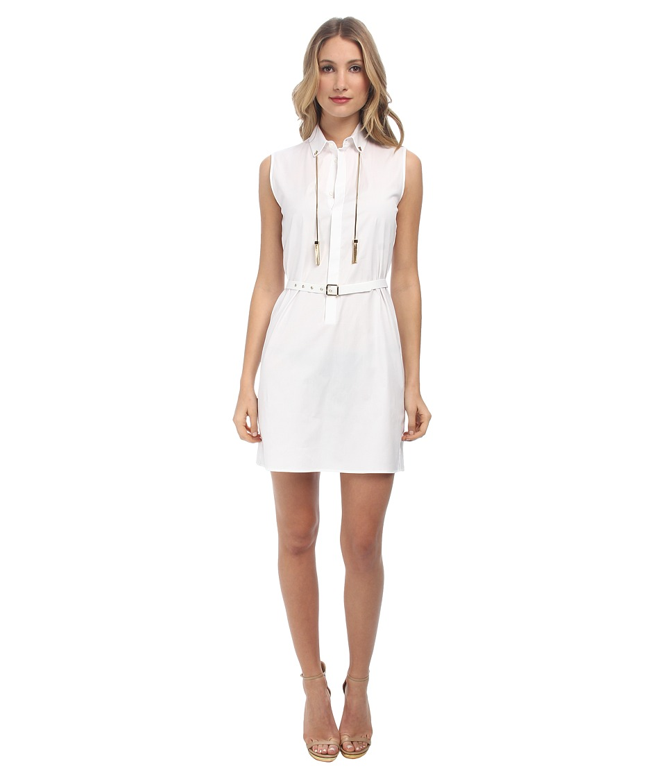 DSQUARED2 - Jardin 70's Dress (White) Women's Dress