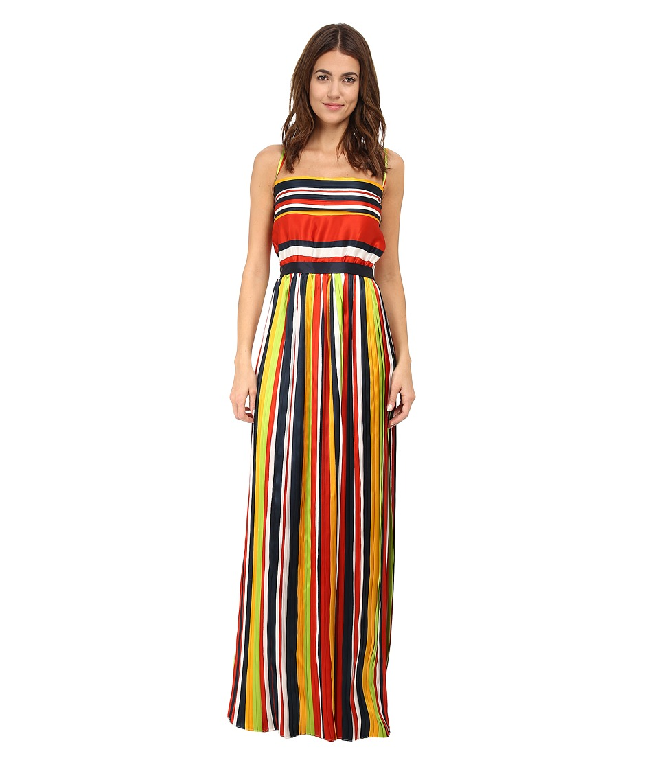 DSQUARED2 - Baiadera Pliss Gown (Mix Colour) Women's Dress