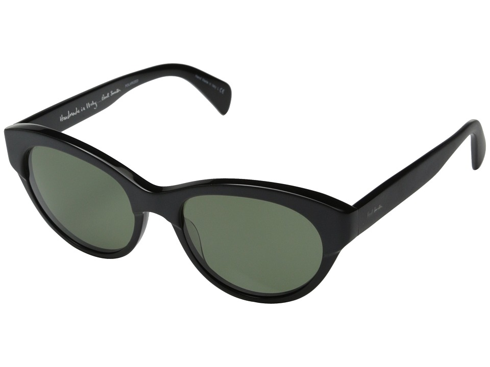 Paul Smith - Aberdeen (Matte Onyx/Onyx/G 15 Polarized) Fashion Sunglasses