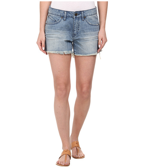 Volcom - Stoned Cut Off Short (Wrecked Indigo) Women's Shorts