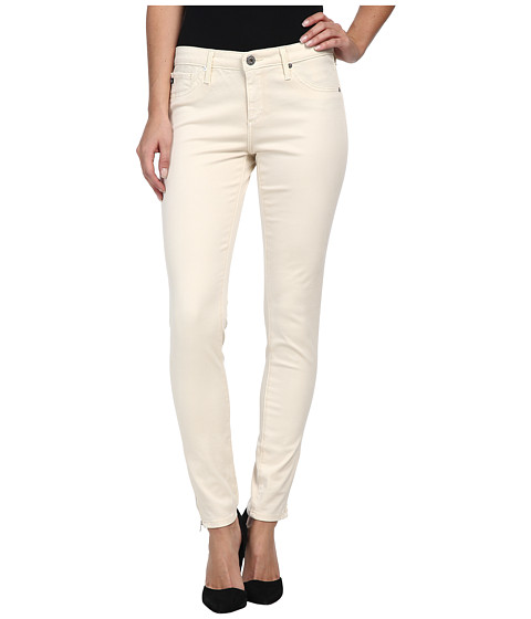 AG Adriano Goldschmied - Zip-Up Legging Ankle in Cold Pigment Meadow Light (Cold Pigment Meadow Light) Women's Jeans