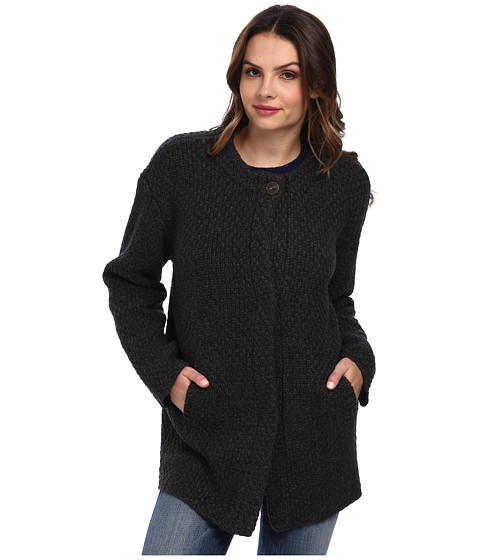 AG Adriano Goldschmied - Ravine Coat in Charcoal (Charcoal) Women