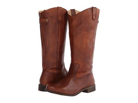 Type Z - Bonnie Wide Calf (Cognac Leather) Women