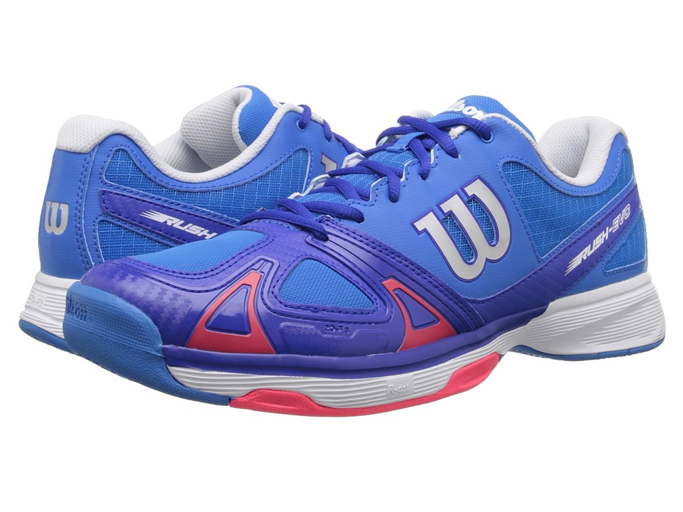 Wilson - Rush Evo (Blue/Blue Iris) Men's Tennis Shoes