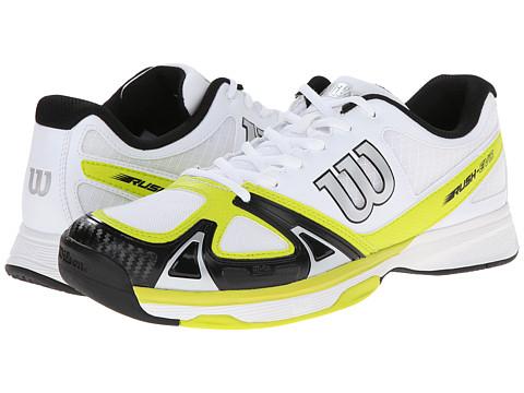 Wilson - Rush Evo (Solar Lime/Black) Men's Tennis Shoes
