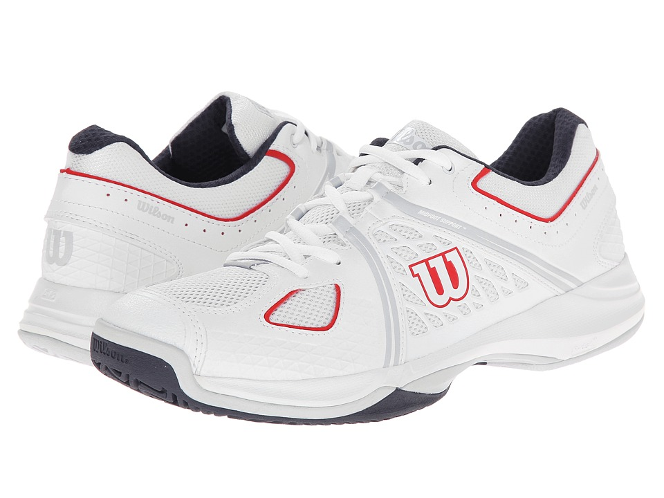 Wilson - Nvision (Gray/Coal) Men's Tennis Shoes