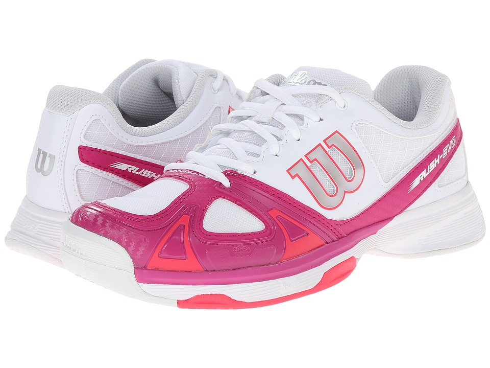 Wilson - Rush Evo (Fiesta Pink/Red) Women's Tennis Shoes