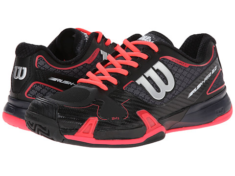 Wilson - Rush Pro 2.0 (Coal/Black/Red) Women
