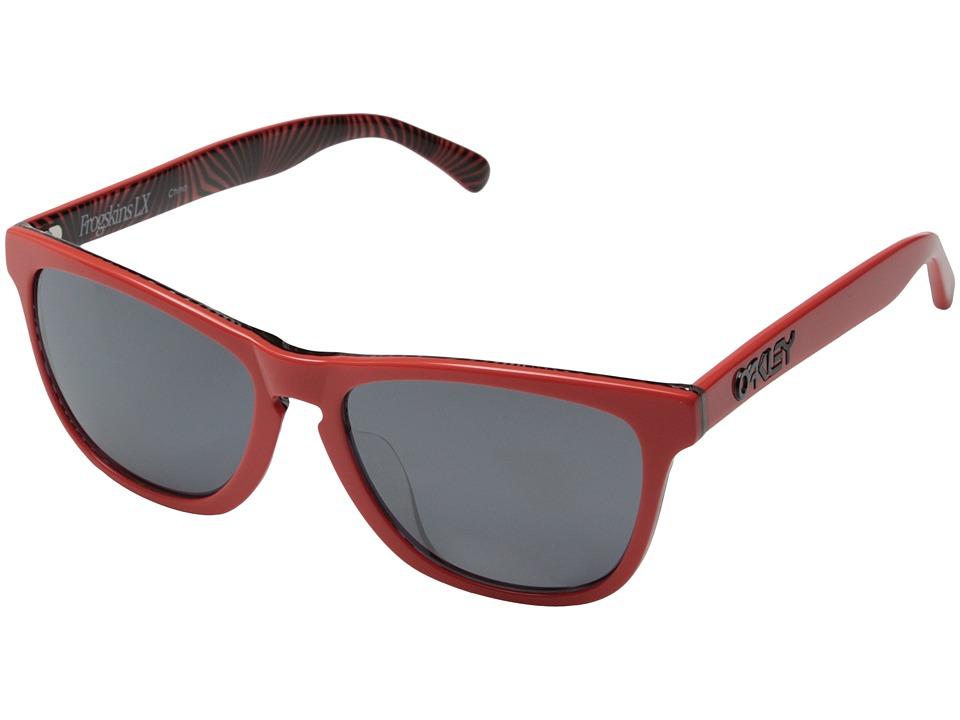 Oakley - Frogskins LX Asian Fit (Red w/ Black Iridium) Sport Sunglasses