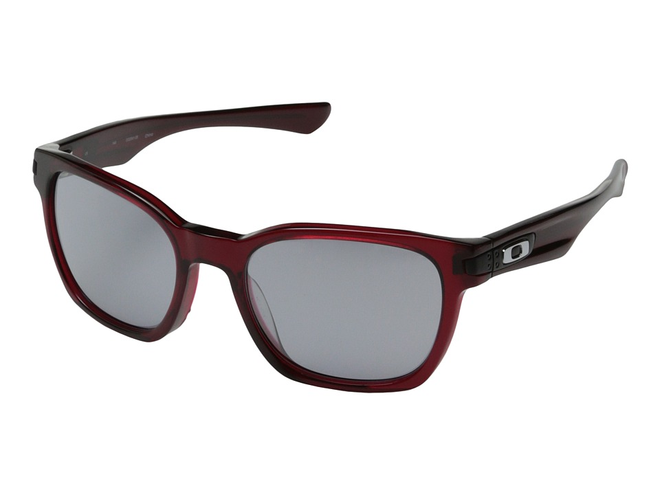 Oakley - Garage Rock LX (Asian Fit) (Crystal Red w/ Slate Iridium) Sport Sunglasses