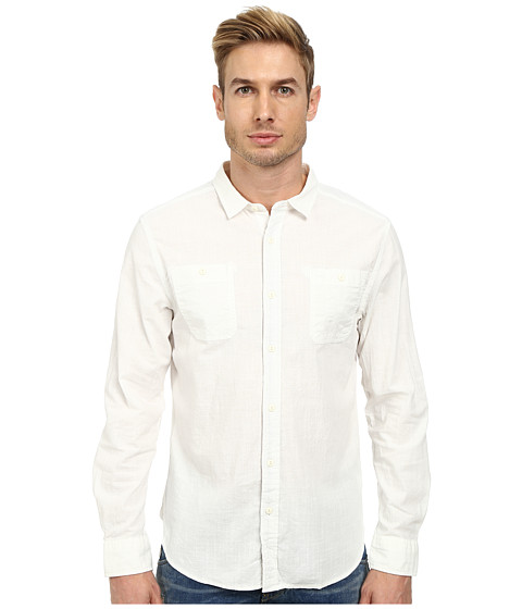 J.A.C.H.S. - Chambray Shirt (White) Men