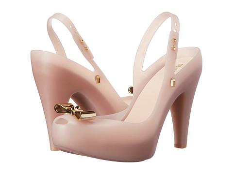 Melissa Shoes - Utragirl Heel II (Pearl Pink) High Heels