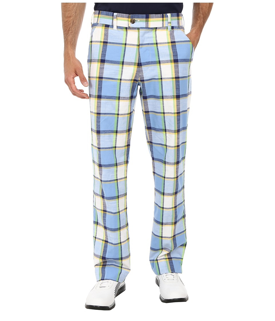 Loudmouth Golf - Blueberry Pie Pant (Cerulean) Men's Casual Pants