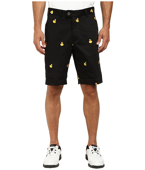 Loudmouth Golf - Rubber Duckies Shorts (Black) Men