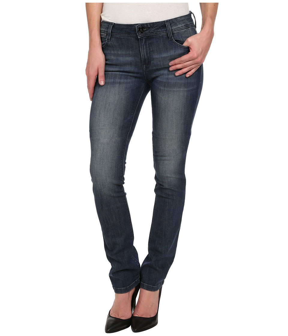 DL1961 - Grace Higher Rise Straight Leg in Bates (Bates) Women's Jeans