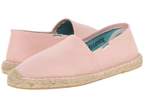 Soludos - Original Canvas Dali (Petal Pink) Women's Slip on Shoes
