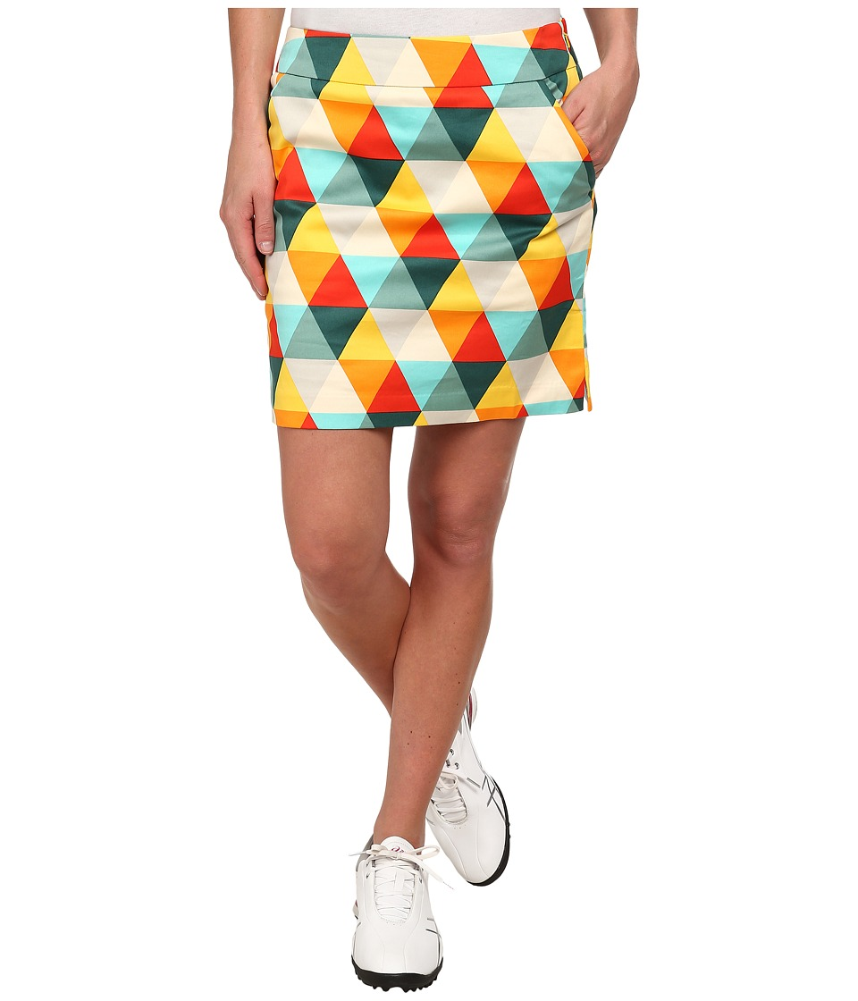 Loudmouth Golf - Folsom Prism Skort (Kelly Green) Women's Skort