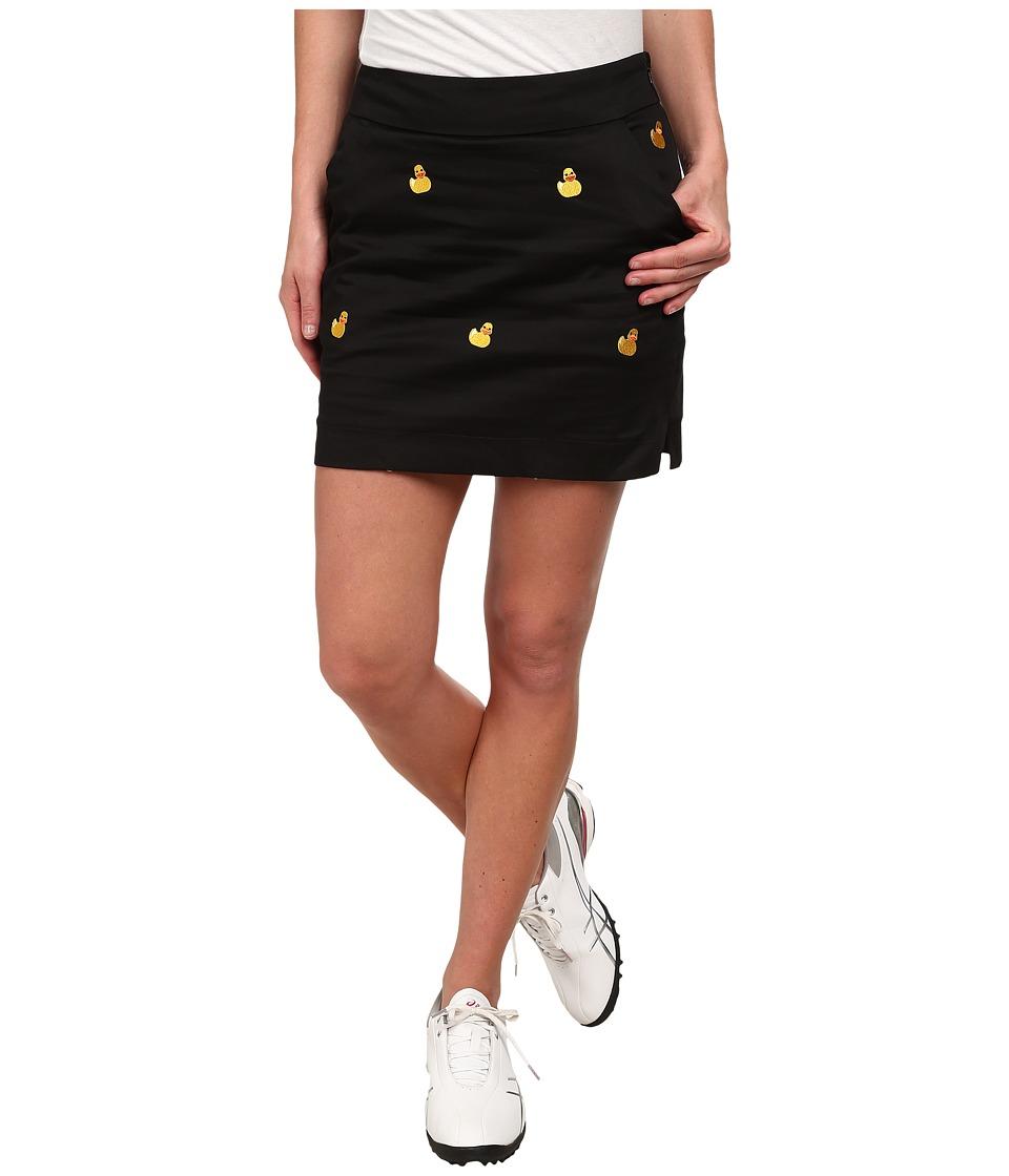 Loudmouth Golf - Rubber Duckies Skort (Black) Women's Skort