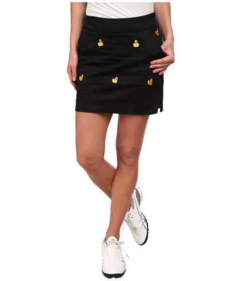 Loudmouth Golf - Rubber Duckies Skort (Black) Women