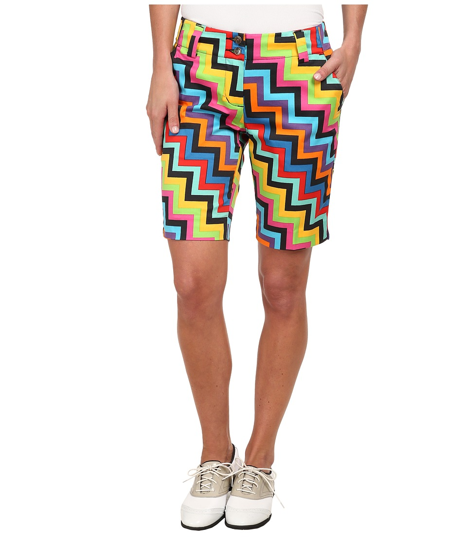 Loudmouth Golf - Steppin' Out Shorts (Black) Women's Shorts