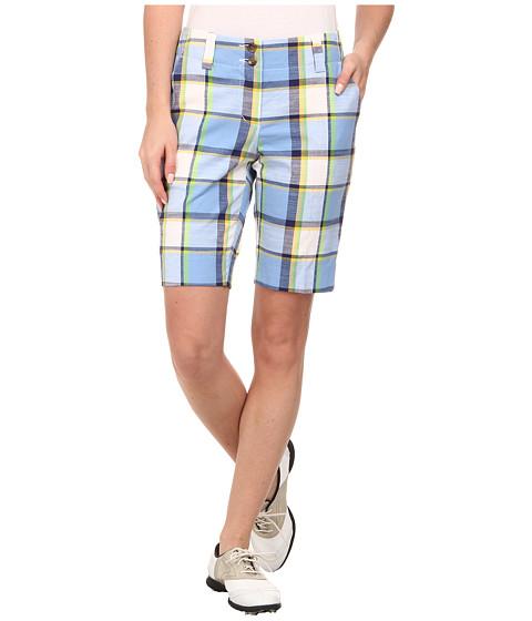 Loudmouth Golf - Blueberry Pie Shorts (Cerulean) Women
