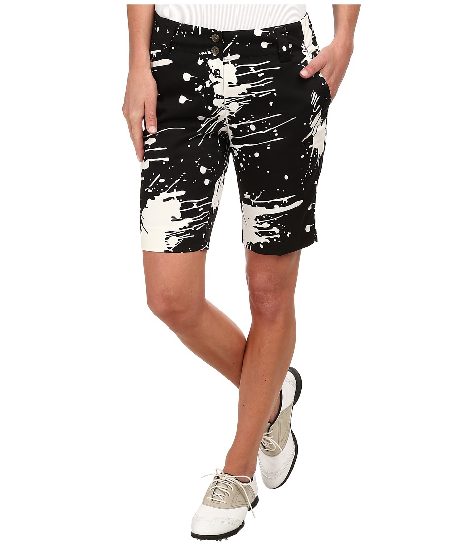 Loudmouth Golf - Dipstick Shorts (Black) Women's Shorts