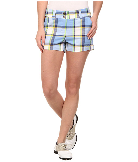 Loudmouth Golf - Blueberry Pie Mini Shorts (Cerulean) Women