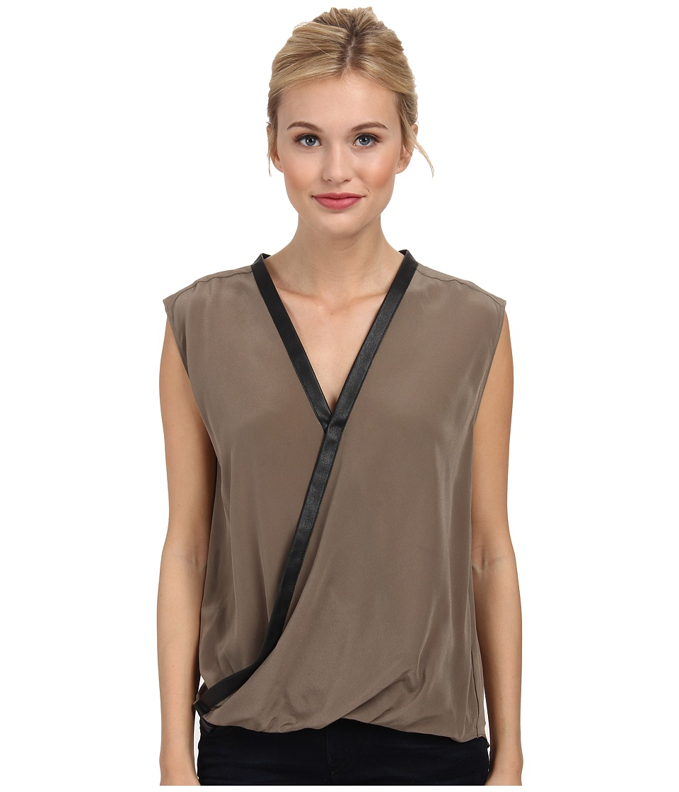 Bailey 44 - Wildebeest Top (Walnut) Women's Blouse
