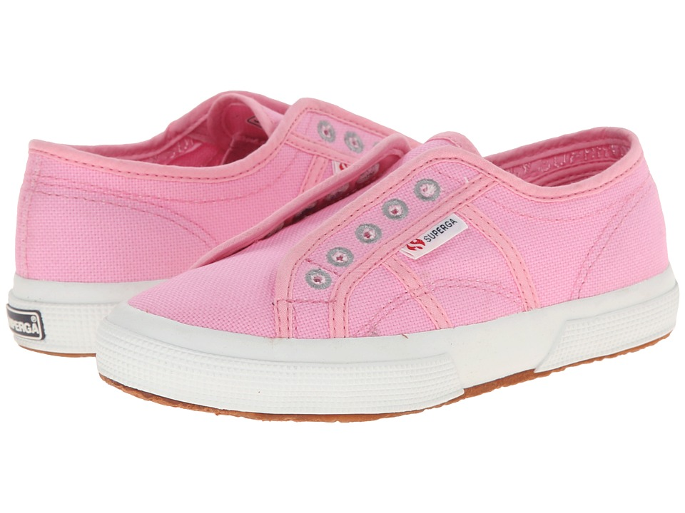 Superga Kids - 2750 COTJ Slip-On (Infant/Toddler/Little Kid/Big Kid) (Begonia Pink) Girls Shoes