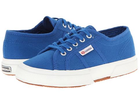 Superga Kids - 2750 JCOT Classic (Infant/Toddler/Little Kid/Big Kid) (Sea Blue) Kids Shoes