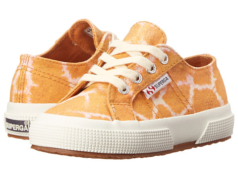 Superga Kids - 2750 COTJ Animals (Infant/Toddler/Little Kid/Big Kid) (Giraffe) Kid