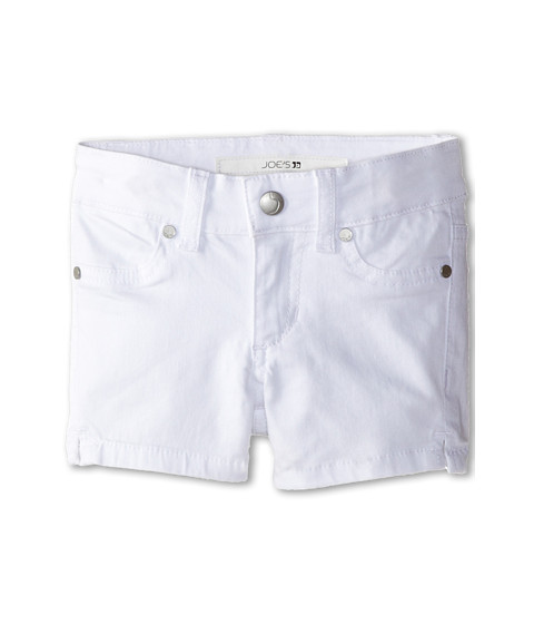 Joe's Jeans Kids - Pennie Core Mini Short in Optical White (Toddler/Little Kids) (Optical White) Girl's Shorts