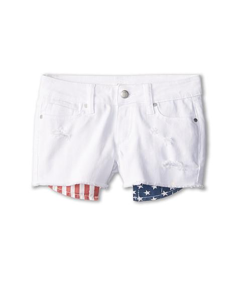 Joe's Jeans Kids - Cut Off Short w/ Flag Pocket in Liberty (Little Kids/Big Kids) (Liberty) Girl's Shorts