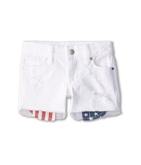 Joe's Jeans Kids - Cut Off Short w/ Flag Pocket in Liberty (Toddler/Little Kids) (Liberty) Girl's Shorts