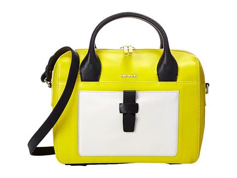McQ - Dahlia Duffle (Ivory/Sun) Duffel Bags