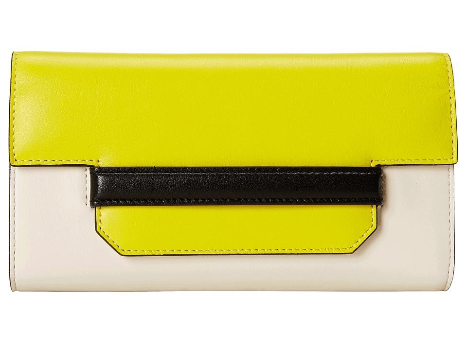 McQ - Phlox Wallet (Ivory/Sun) Wallet Handbags